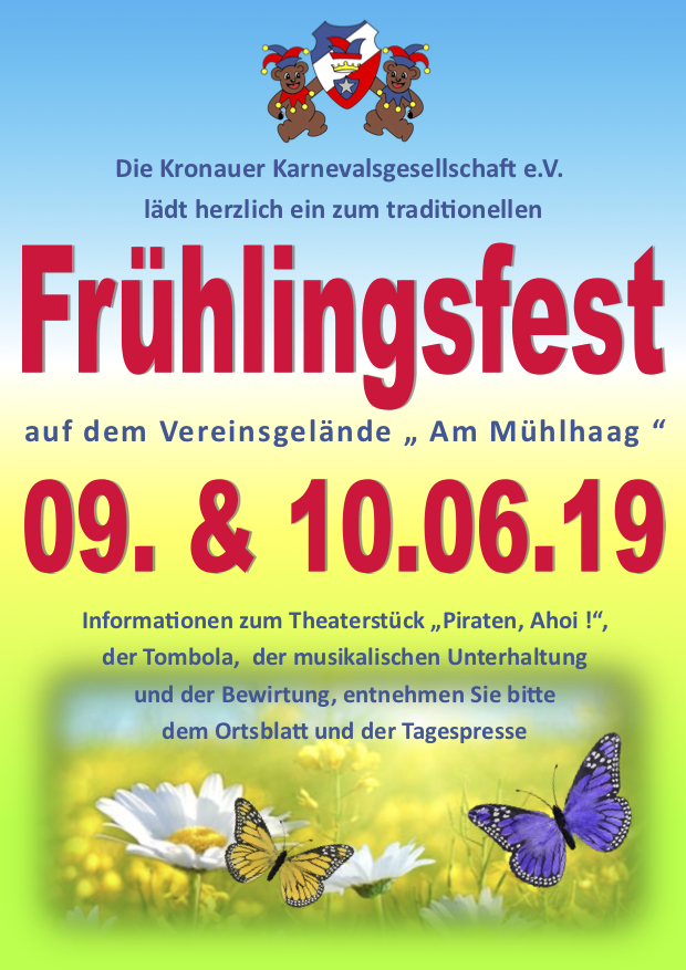 Frühlingsfest @ KroKaGe Vereinsheim