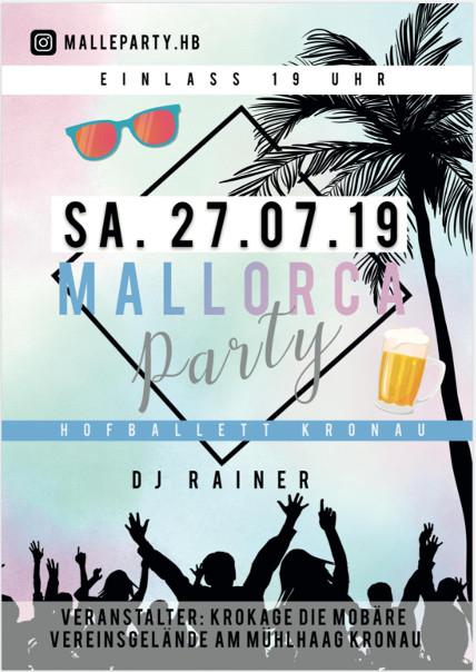 Party Hofballett @ KroKaGe Vereinsheim
