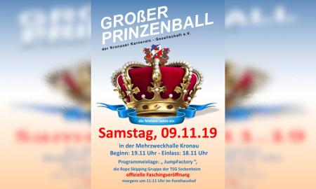 Großer Prinzenball @ Mehrzweckhalle Kronau