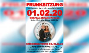 Große Prunksitzung 2020 @ MZH Kronau