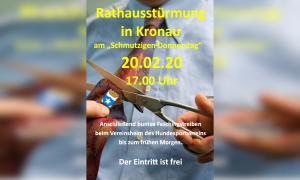 Rathausstürmung in Kronau @ Rathaus Kronau